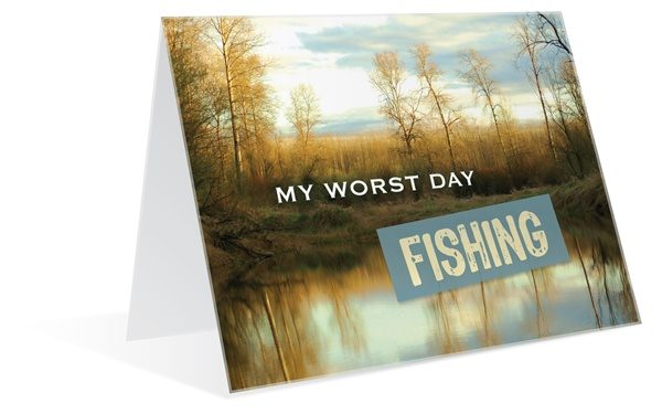 My worst day fishing malemark greeting cards malemark greeting my worst day fishing m4hsunfo