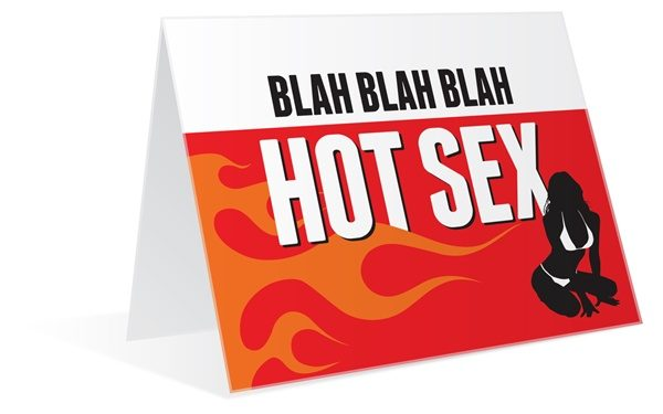 Greeting hot card sexy